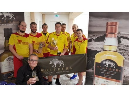 Korbballtournier in Ruswil LU, sponsoring alexanderwhisky.ch-a commitment to Wolfburn