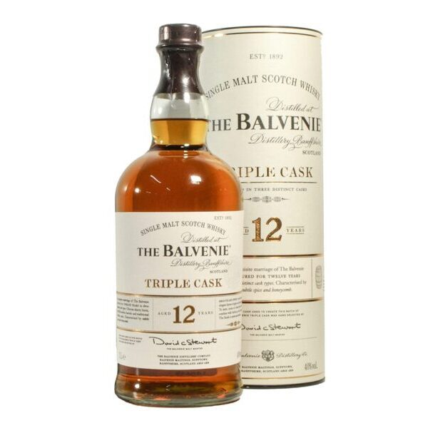 Balvenie 12 years old, Triple Cask, 1L