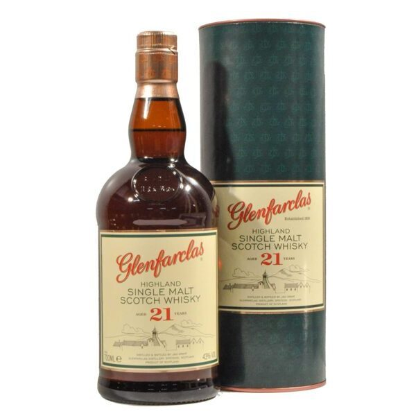 Glenfarclas 21 years old, 43%
